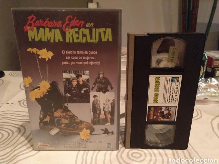 MAMA RECLUTA- VHS- BARBARA EDEN (Cine - Películas - VHS)