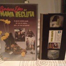 Cine: MAMA RECLUTA- VHS- BARBARA EDEN. Lote 194236273