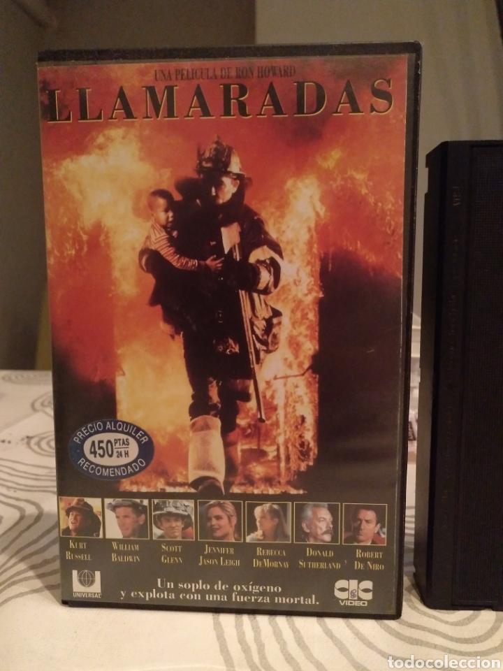 Cine: VHS- Llamaradas- Kurt Russell Robert de Niro- 1 edición - Foto 2 - 194236760
