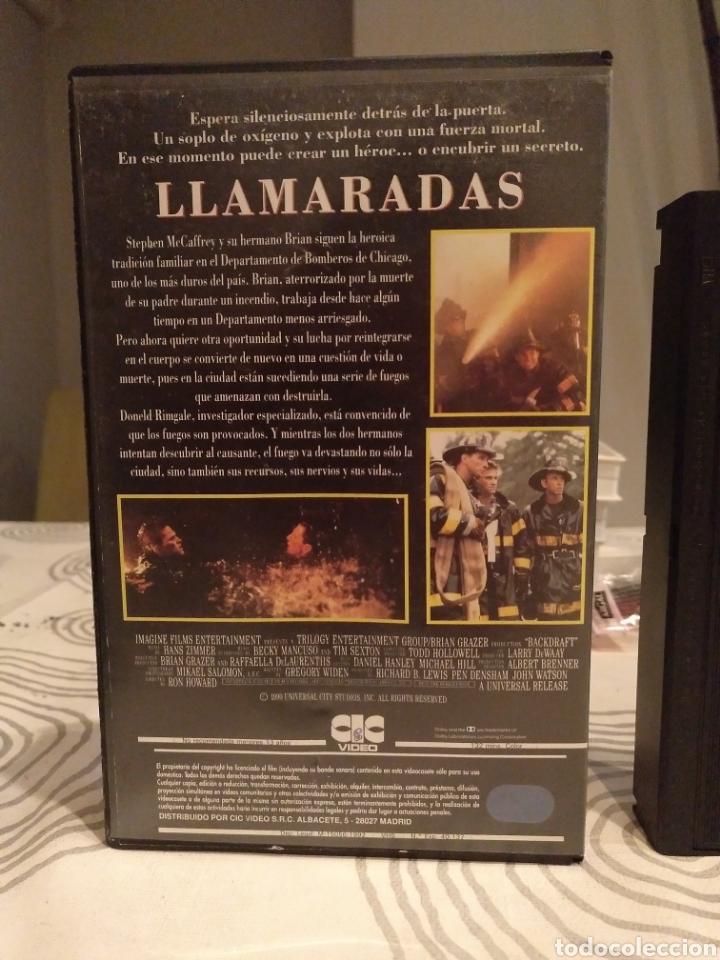 Cine: VHS- Llamaradas- Kurt Russell Robert de Niro- 1 edición - Foto 3 - 194236760