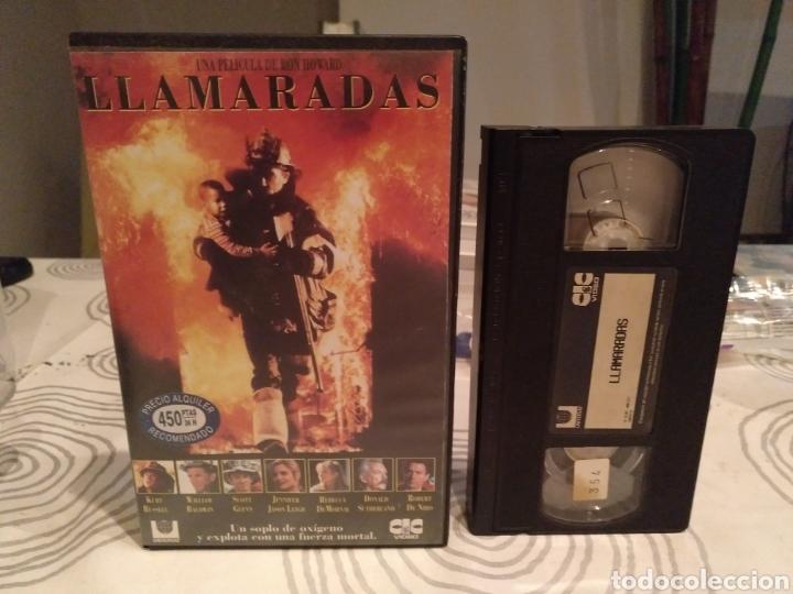 VHS- LLAMARADAS- KURT RUSSELL ROBERT DE NIRO- 1 EDICIÓN (Cine - Películas - VHS)