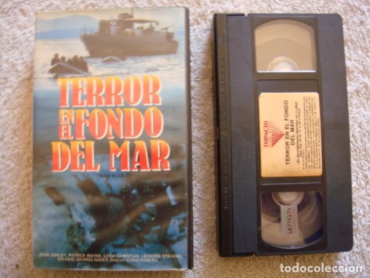 VHS - TERROR EN EL FONDO DEL MAR (MÁS ALLÁ DE LA ATLÁNTIDA) - 1973 - DIR. EDDIE ROMERO (Cine - Películas - VHS)