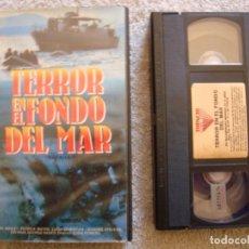 Cine: VHS - TERROR EN EL FONDO DEL MAR (MÁS ALLÁ DE LA ATLÁNTIDA) - 1973 - DIR. EDDIE ROMERO. Lote 194237710