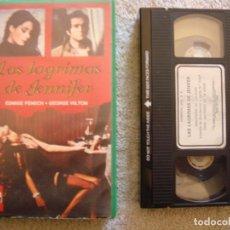 Cine: VHS - LAS LAGRIMAS DE JENNIFER - 1972 - EDWIGE FENECH - DIR. GIULIANO CARNIMEO - UNICA EN TC. Lote 194243702