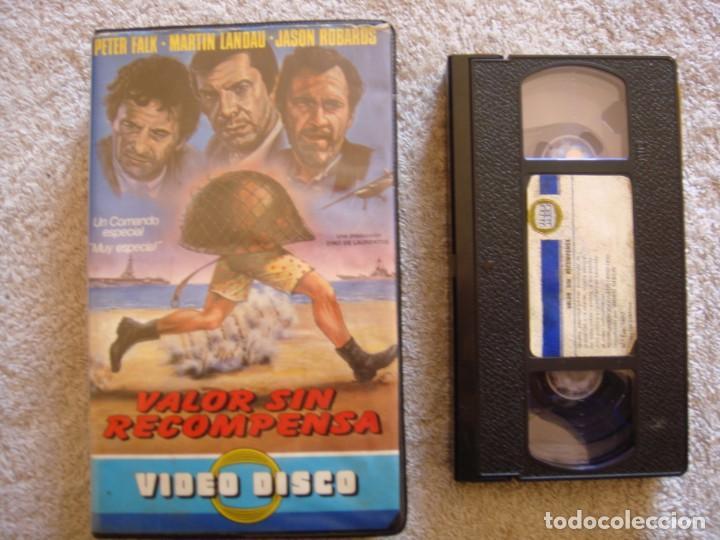 VHS - VALOR SIN RECOMPENSA - 1970 - NINO MANFREDI, JASON ROBARDS - DIR. NANNI LOY (Cine - Películas - VHS)