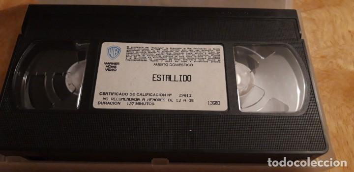 Cine: 1 VIDEO VHS DE **. ESTALLIDO . DUSTIN HOFFMAN ** SIN REVISAR WARNER BROS 1996 - Foto 2 - 194244961