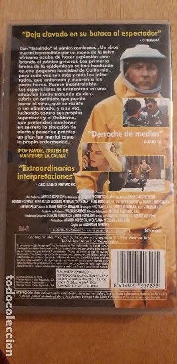 Cine: 1 VIDEO VHS DE **. ESTALLIDO . DUSTIN HOFFMAN ** SIN REVISAR WARNER BROS 1996 - Foto 3 - 194244961