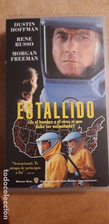 1 VIDEO VHS DE **. ESTALLIDO . DUSTIN HOFFMAN ** SIN REVISAR WARNER BROS 1996 (Cine - Películas - VHS)