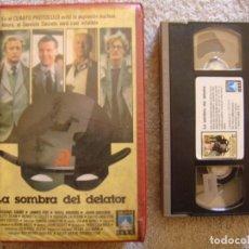 Cine: VHS - LA SOMBRA DEL DELATOR - 1986 - MICHAEL CAINE, JAMES FOX - DIR. SIMON LANGTON. Lote 194246387
