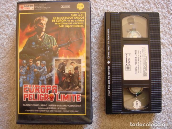 VHS - EUROPA, PELIGRO LIMITE (ET SKUD FRA HJERTET) - 1986 - HENRIK BIRK - DIR, KRISTIAN LEVRING (Cine - Películas - VHS)