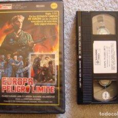 Cine: VHS - EUROPA, PELIGRO LIMITE (ET SKUD FRA HJERTET) - 1986 - HENRIK BIRK - DIR, KRISTIAN LEVRING. Lote 194247101