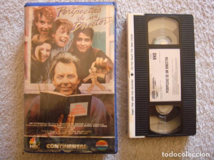 VHS - PERIPECIAS DE UN DIRECTOR (A FATHER'S HOMECOMING) - 1988 - DIR. R.W. GOODWIN, RICK WALLACE (Cine - Películas - VHS)