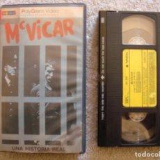 Cine: VHS - MCVICAR - 1980 - ROGER DALTREY, ADAM FAITH - DIR. TOM CLEGG. Lote 194247843