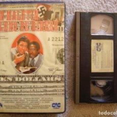 Cine: VHS - UN MALETIN LLENO DE DINERO - 1980 - BEN VEREEN, JEFF GOLDBLUM - DIR.E.W. SWACKHAMER. Lote 194262212