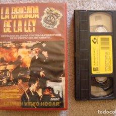 Cine: VHS - LA BRIGADA DE LA LEY (BRASS) - 1985 - CARROLL O'CONNOR, LOIS NETTLETON - DIR. COREY ALLEN. Lote 194263403