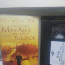 Cine: MAS ALLA DE LOS SUEÑOS. VHS. Lote 194294553