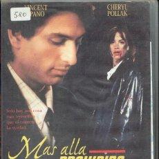 Cine: MÁS ALLÁ DE LO PROHIBIDO. Lote 194305057
