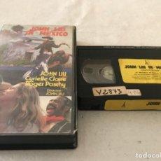 Cine: VHS ORIGINAL / JOHN LIU EN MEXICO (DRAGON BLOOD). Lote 194333942