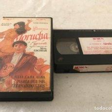 Cine: VHS ORIGINAL / LAS TRAVESURAS DE MORUCHA. Lote 194334084