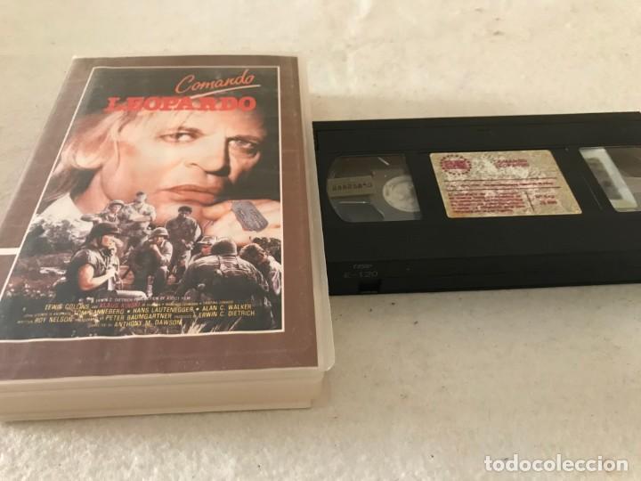 VHS ORIGINAL / COMANDO LEOPARDO (Cine - Películas - VHS)