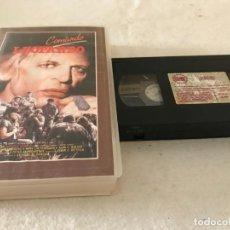 Cine: VHS ORIGINAL / COMANDO LEOPARDO. Lote 194344952