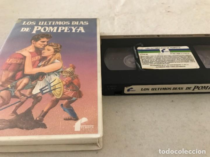 VHS ORIGINAL / LOS ULTIMOS DIAS DE POMPEYA (Cine - Películas - VHS)