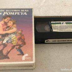 Cine: VHS ORIGINAL / LOS ULTIMOS DIAS DE POMPEYA. Lote 194345098