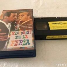 Cine: VHS ORIGINAL / HISTORIAS DE LA FERIA. Lote 194346128
