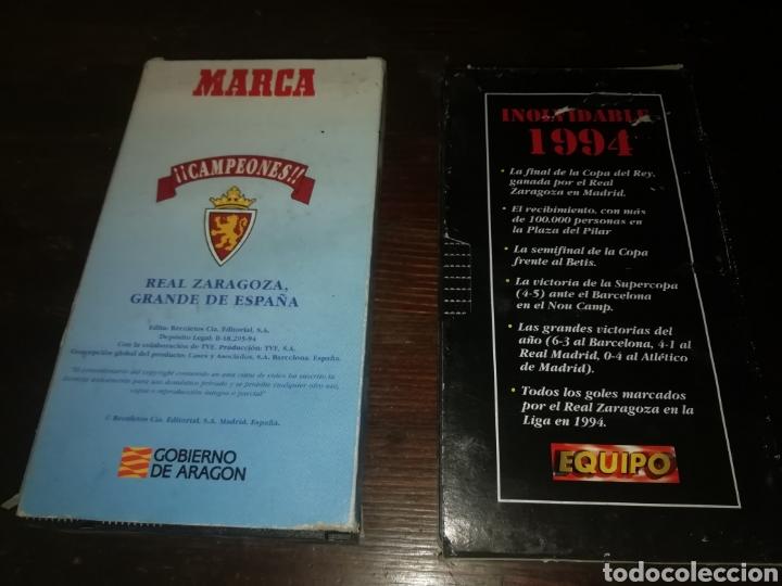 Cine: 2 películas de fútbol real Zaragoza de 1994 campeon copa del rey - Foto 2 - 194346768