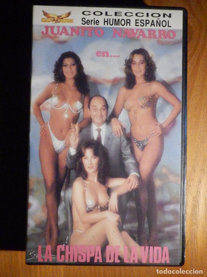 LA CHISPA DE LA VIDA - SERIE HUMOR ESPAÑOL - JUANITO NAVARRO - GRUPO CONDOR (Cine - Películas - VHS)