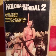 Cine: HOLOCAUSTO CANIBAL 2 - VHS .. Lote 194374543