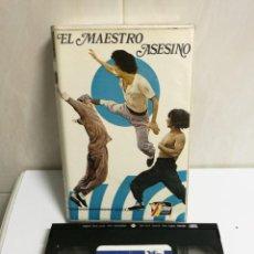 Cine: VHS MAESTRO ASESINO . Lote 194492918