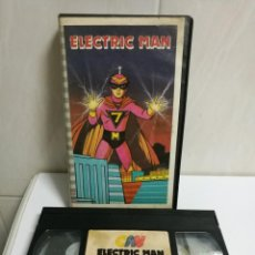 Cine: VHS ELECTRIC MAN. Lote 194495988