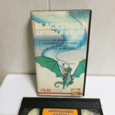 Cine: VHS BLACKSTAR ESTRELLA NEGRA. Lote 194496186