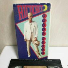 Cine: VHS RICOCHET DAVID BOWIE. Lote 194496707