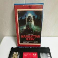 Cine: VHS MANHATTAN BABY LUCIO FULCI. Lote 194497437