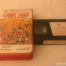 Cine: VHS ORIGINAL / LUCKY LUKE LA BALADA DE LOS DALTON. Lote 194516591