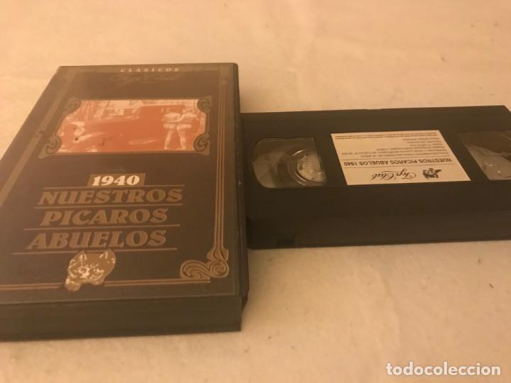 VHS ORIGINAL / 1940 NUESTROS PICAROS ABUELOS (Cine - Películas - VHS)