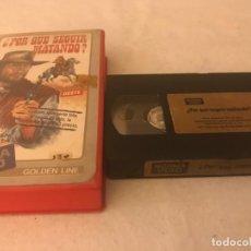 Cine: VHS ORIGINAL / ¿ POR QUE SEGUIR MATANDO ?. Lote 194516822
