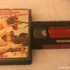 Cine: VHS ORIGINAL / CINCO SEMANAS EN GLOBO. Lote 194517042