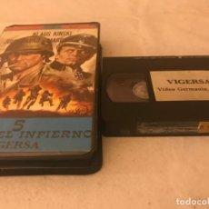 Cine: VHS ORIGINAL / 5 PARA EL INFIERNO. Lote 194517101
