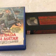Cine: VHS ORIGINAL / ENTRENADA PARA MATAR. Lote 194517180
