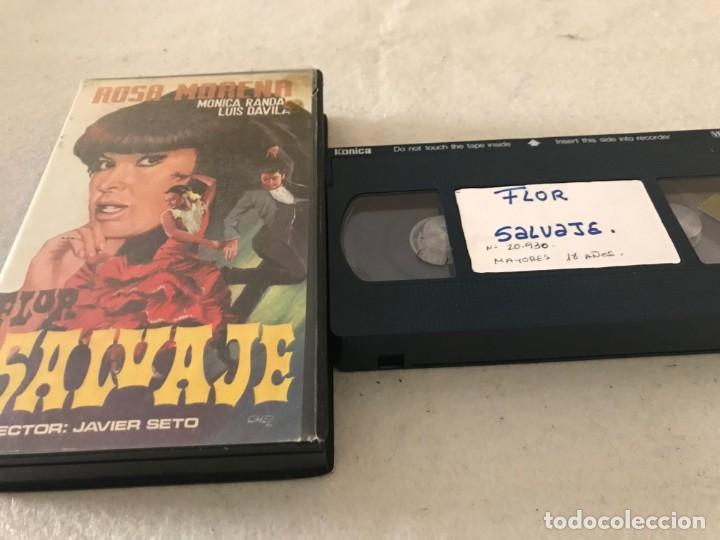 VHS ORIGINAL / FLOR SALVAJE (Cine - Películas - VHS)