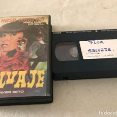 Cine: VHS ORIGINAL / FLOR SALVAJE. Lote 194517258