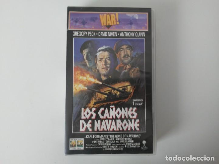 Cine: Los Cañones de Navarone Gregory Peck Anthony Quinn War Classics cinta de video VHS - Foto 1 - 194524381