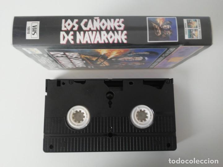 Cine: Los Cañones de Navarone Gregory Peck Anthony Quinn War Classics cinta de video VHS - Foto 4 - 194524381