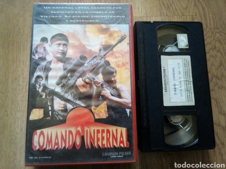 COMANDO INFERNAL VHS SAMO HUNG, HONG KONG (Cine - Películas - VHS)