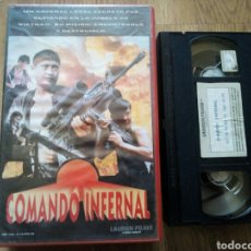 Cine: COMANDO INFERNAL VHS SAMO HUNG, HONG KONG. Lote 194534061