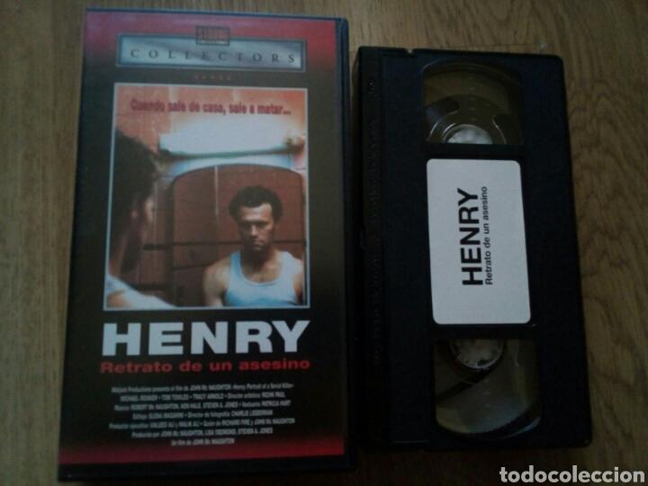HENRY RETRATO DE UN ASESINO VHS (Cine - Películas - VHS)