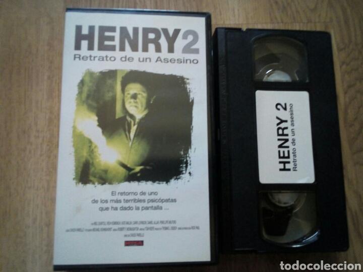 HENRY 2 RETRATO DE UN ASESINO VHS (Cine - Películas - VHS)